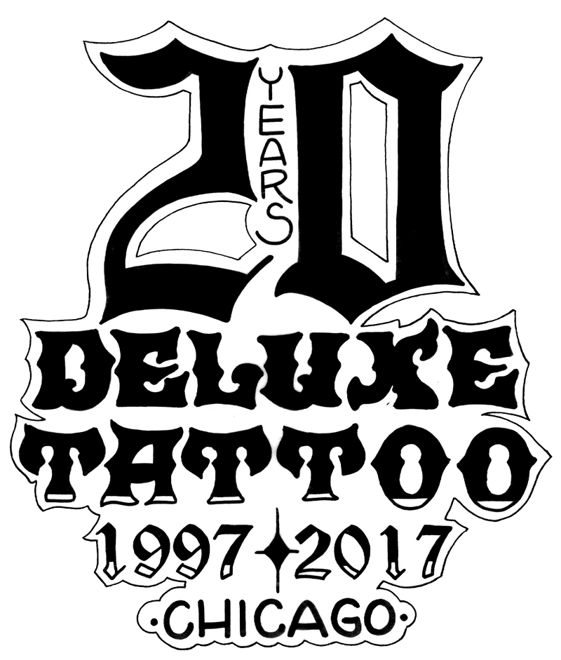 deluxe tattoo 773 549 1594 CLTV Chicago's Best home